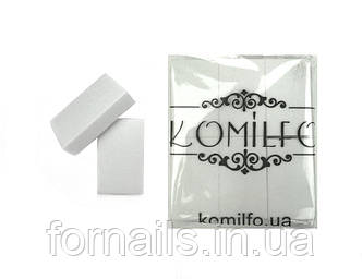 Набор одноразовых шлифовщиков Komilfo 120/120, 24 шт (50*30*12 мм)