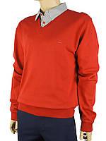 Мужской свитер Fabiani 0295 красного цвета