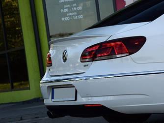 Спойлер шабля VW Passat CC (скловолокно)