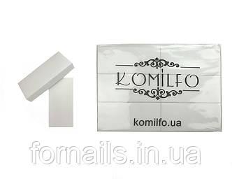 Набор одноразовых шлифовщиков Komilfo 120/120, 24 шт ( 76*34*13 мм)