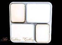 Потолочная светодиодная квадратная люстра 9151/4, фото 1