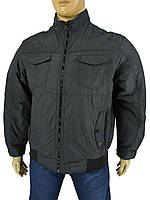 Демисезонная мужская куртка Santorio 7306#5043 в большом размере