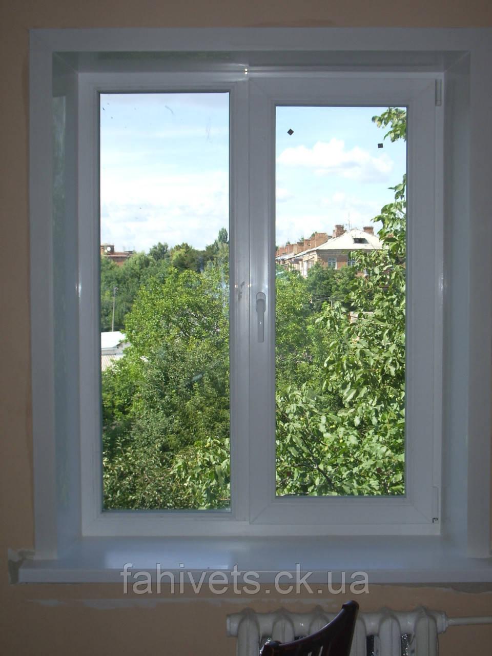 Пластикові (теплі) відкоси на вікна