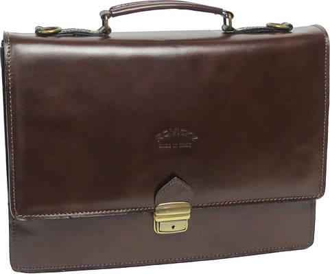 Кожаный мужской портфель Rovicky
