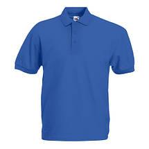 Тенниска полусинтетика FOL 65:35 мужская Polo (цвет в ассортименте), фото 3
