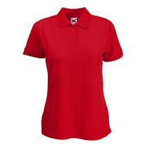 Тенниска полусинтетика FOL женская Lady-Fit 65:35 Polo (цвета в ассортименте), фото 3