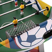 Настольный Футбол Европейского качества MD Sports - 120 х 60 х 78 см, кикер, фото 2