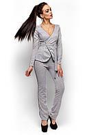 Костюм с пиджаком Агат серый (S,M)
