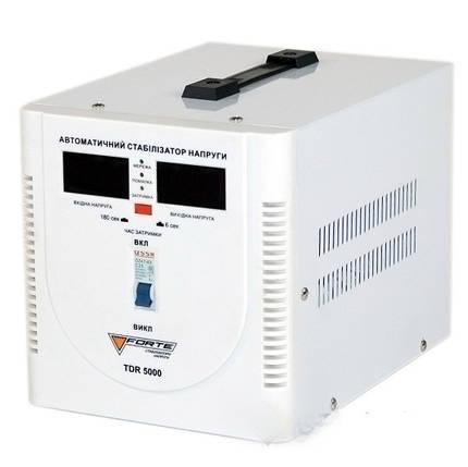 Стабилизатор напряжения FORTE TDR-5000VA, фото 2
