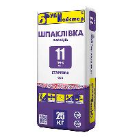 БудМастер шпаклевка цементная стартовая ТИНК-11 (25 кг)