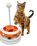 Игрушка для кошек круглой формы VERTIGO ferplast, фото 2