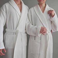 Велюровый гостиничный халат для отеля XL (50-52) Турция HOTEL