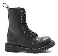 Черные мужские ботинки Glany STEEL 11Black 47,46,45,44,43,42,41