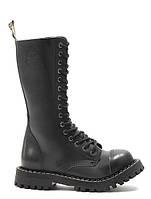 Черные мужские ботинки Glany STEEL 136 136 Black 45,44,43,42,41