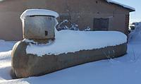 Емкость, газгольдер 6,4 куб., резервуар, сжиженный газ, пропан LPG