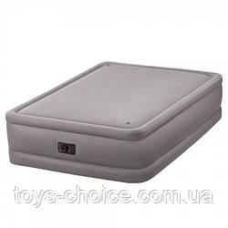Велюр Кровать Intex 152-203-51 См. Со Встроенным Насосом 220 В. Ps
