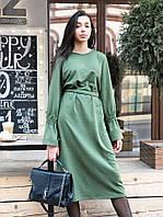 Платье 0079 хаки