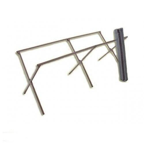 Металлические ножки  (каркас) длина 3м для уличного торгового стола
