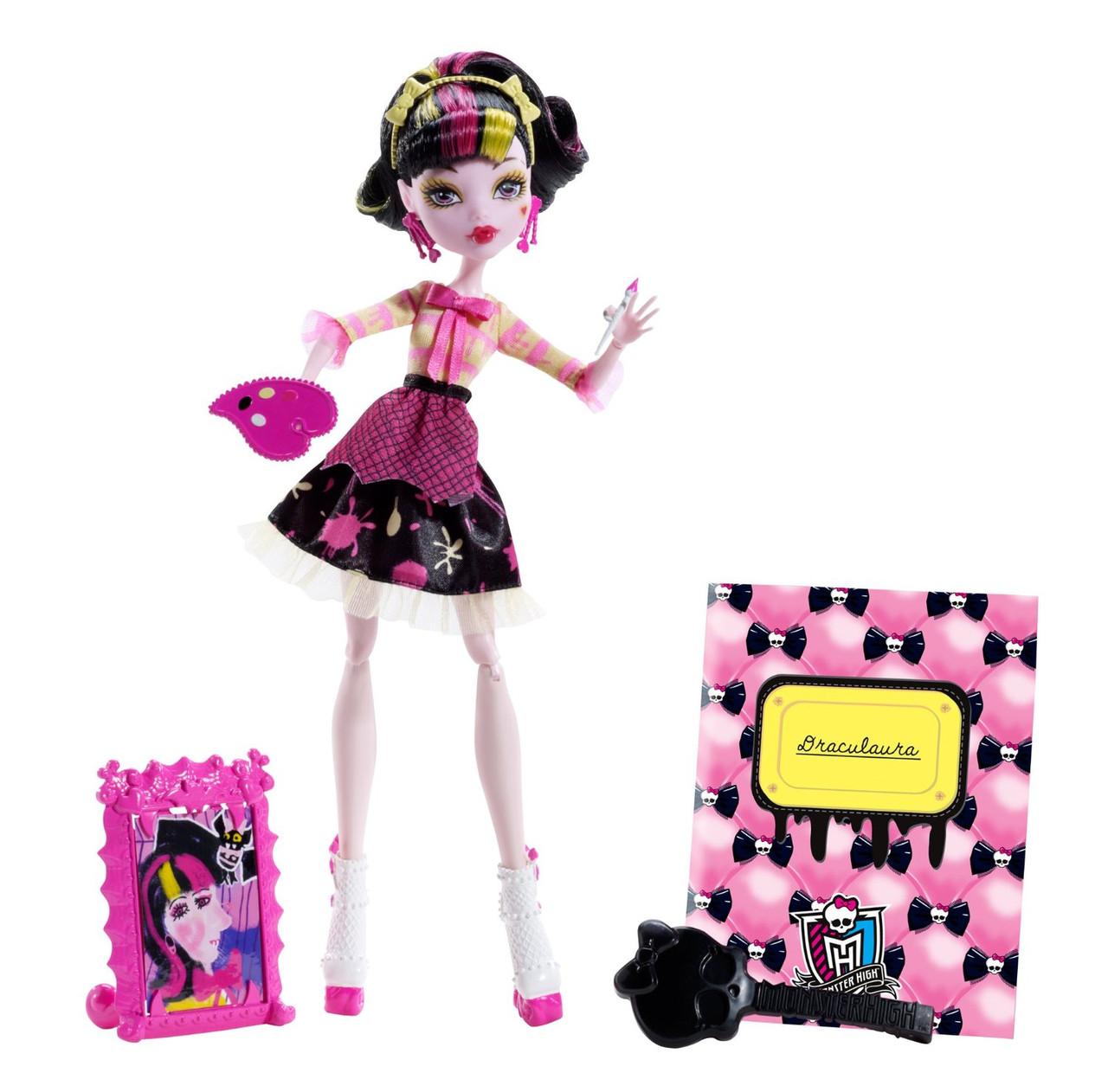 Дракулаура Арт Класс  (Art Class Draculaura Doll)