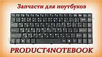 Клавиатура для ноутбука MSI (X350, X360, X370, CR420) rus, black