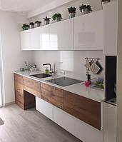 Кухня с фасадами мдф и дсп , фото 1