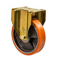 Колесо промышленное большегрузное на неповоротном кронштейне 100 мм,55100Н
