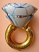 """Фольгированный шар """"Кольцо"""" 70×45 см"""