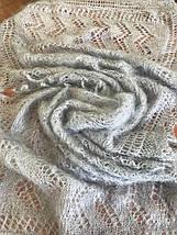 Женский стильный палантин пуховой Снежана, фото 3