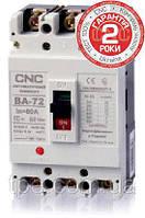 Автоматический выключатель ВА-72, 3Р, 380В, 25кА 125