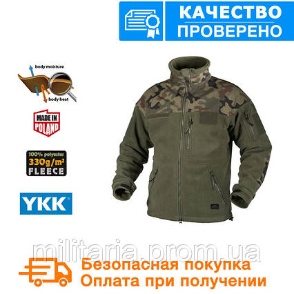Флисовая кофта Helikon-Tex Infantry Duty Fleece Jacket Olive Green S, M, L, XL/regular (BL-INF-HF-18), фото 2