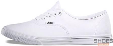 Женские кеды Vans Authentic White купить в интернет-магазине обуви ... 262fec893fa6f
