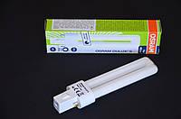 Лампа Osram S G23 7W/840 компактна люмінесцентна