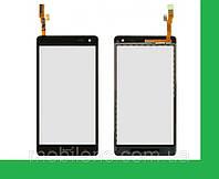 HTC Desire 600, Desire 606w Dual Sim Тачскрин (сенсор) чёрный