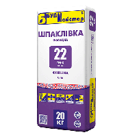 БудМастер шпаклевка финишная белая ТИНК-22 (20 кг)