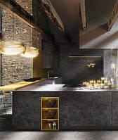 Кухня под бетон, фото 1