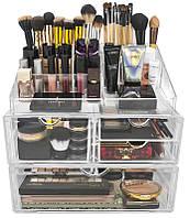 Акриловый органайзер для косметики Cosmetic Organizer Box! Акция, фото 1