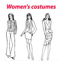 Жіночі костюми, комбінезони