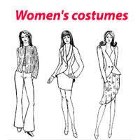 Женские костюмы и комбинезоны