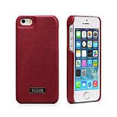 Чехол накладка для iPhone5/5S iCarer Luxury (back cover) Красный