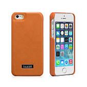 Чехол накладка для iPhone5/5S iCarer Luxury (back cover) Оранжевый