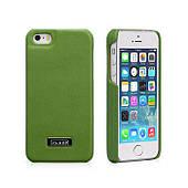 Чехол накладка для iPhone5/5S iCarer Luxury (back cover) Зеленый