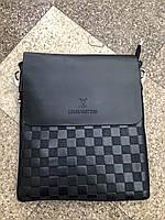 Мужская сумка через плечо Louis Vuitton (Луи Витон) 30-22 см
