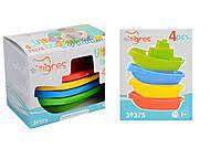 Для ванной набор корабликов кораблики пластик, Тигрес 39375, 007101, фото 1