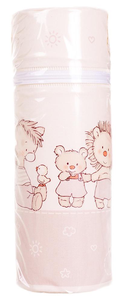 Термоконтейнер Ceba Baby Standard 63*63*225мм  беж-капучино (мишка,утка,ослик,ежик,слон,мышка)