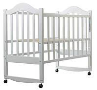 Кровать BabyRoom Дина D101 береза белая