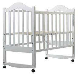 Кровать Babyroom Дина D101  белая