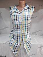 """Рубашка женская """"Tani"""" купить оптом со склада на 7км LM-939"""