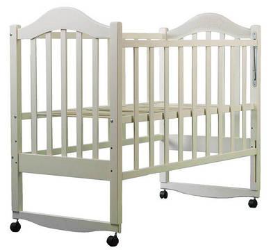 Кровать BabyRoom Дина D102 береза слоновая кость