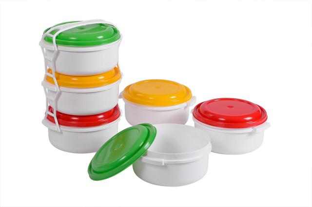 Купить комплект судков для пищевых продуктов 3шт.x1л.