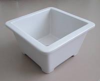 Вазон керамический квадратный 25*25 см Кашпо керамика